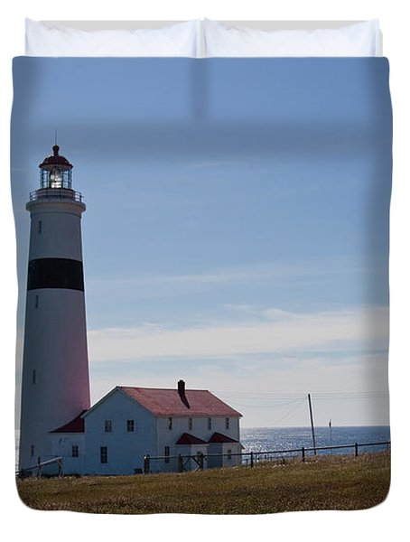 Lighthouse Labrador Duvet Cover
