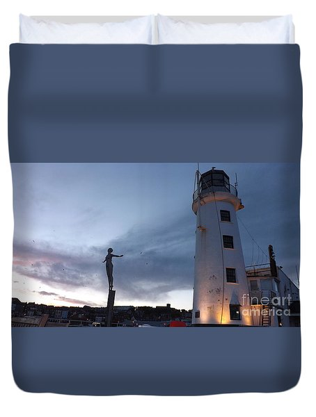 Lighthouse Lady 2 Duvet Cover