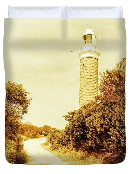 Lighthouse Lane Duvet Cover