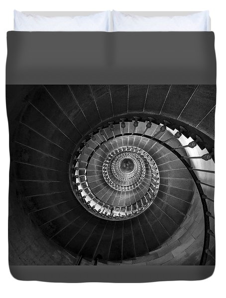 Lighthouse Spiral Staircase Duvet Cover