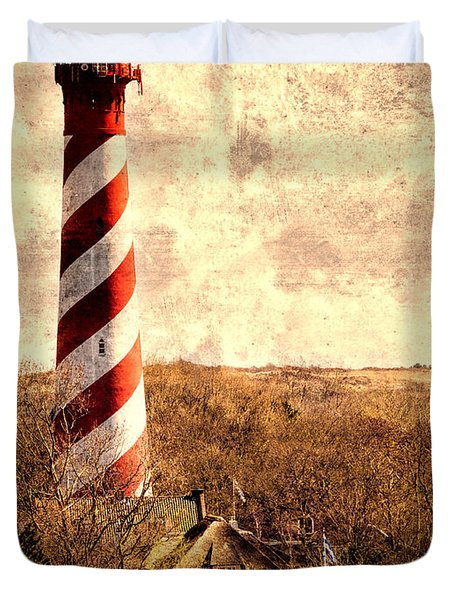 Lighthouse Westerlichttoren Duvet Cover