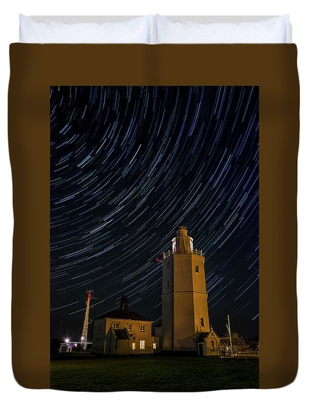 Lighting The Sky Duvet Cover