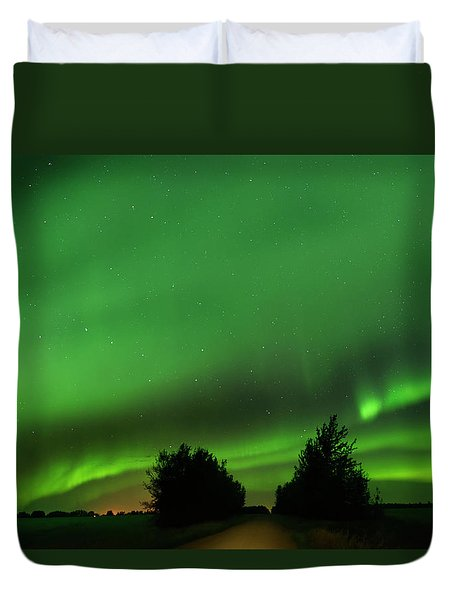 Lighting The Way Home Duvet Cover