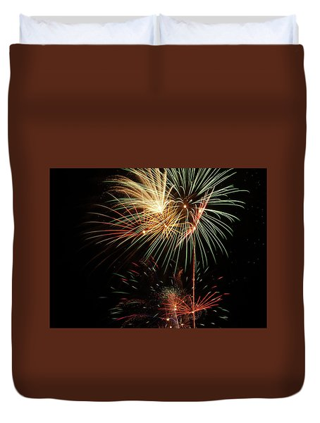 Lighting Up The Night Duvet Cover