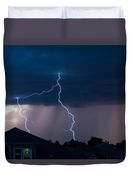 Lightning 2 Duvet Cover