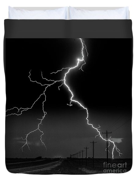 Lightning Bolt Duvet Cover