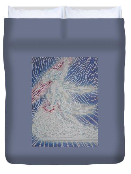 Lightning Goddess Duvet Cover