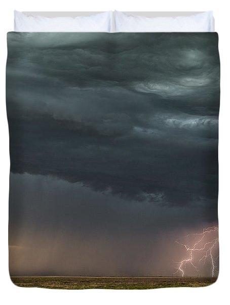 Lightning Duvet Cover