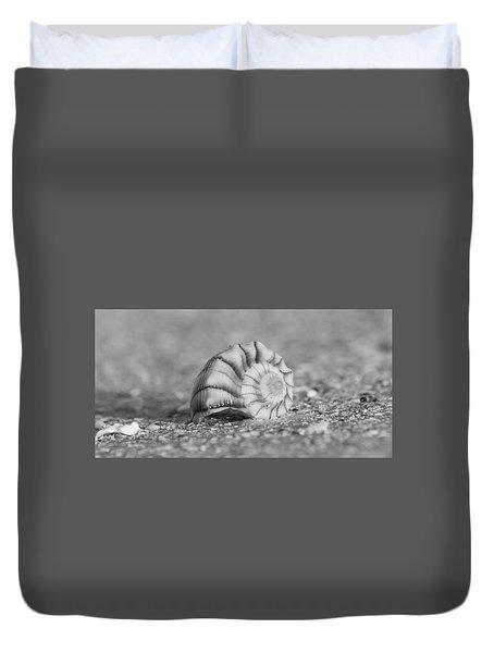Lightning Whelk Duvet Cover