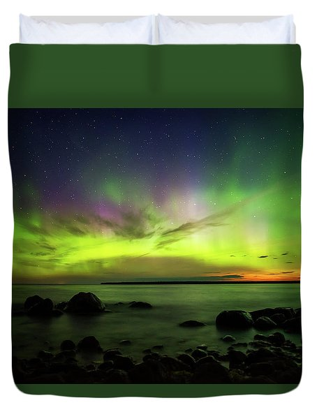 Lights 2 Duvet Cover