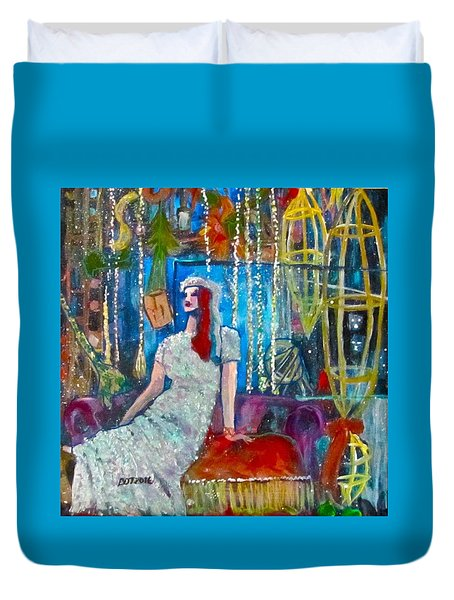 Lights Duvet Cover by Barbara O'Toole