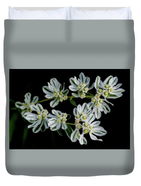 Lights In The Darkness Duvet Cover