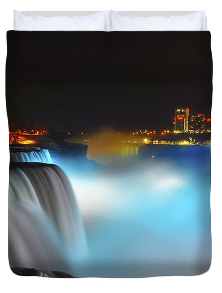 Lightshow 2 Duvet Cover