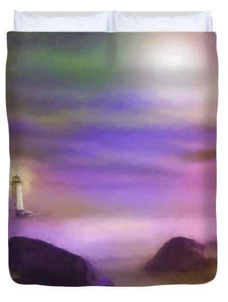Liighthouse Duvet Cover