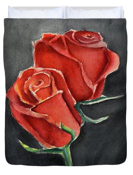 Like A Rose Duvet Cover