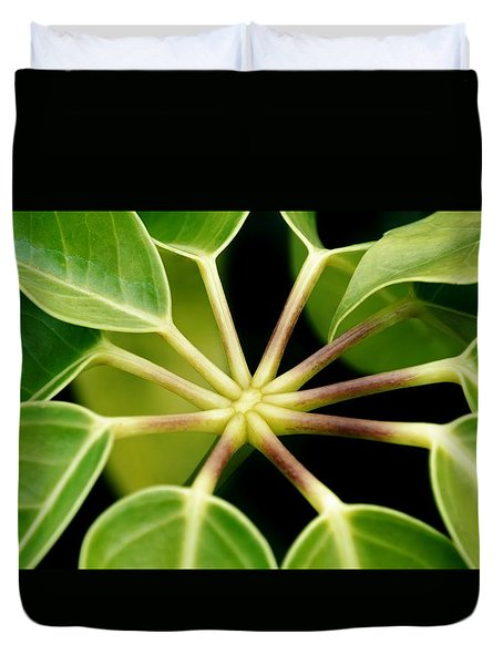 Duvet Cover featuring the photograph like a Star by Werner Lehmann