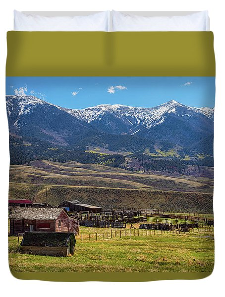 Like An Old Western Movie Duvet Cover by James BO Insogna