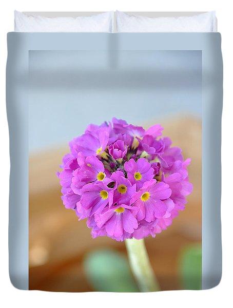 Single Pink Flower Duvet Cover