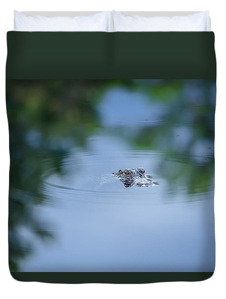 Lil Guy Duvet Cover by Craig Szymanski