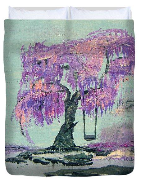Lilac Dreams- Prince Duvet Cover