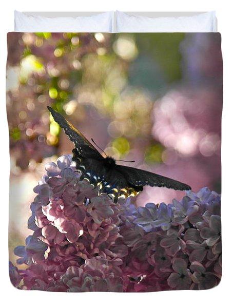 Lilac World Duvet Cover