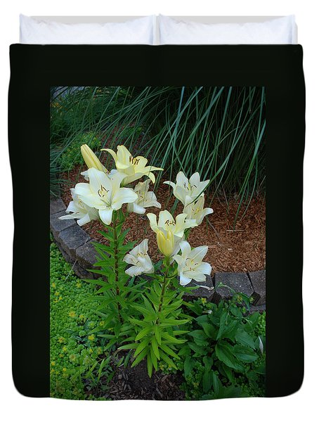 Lillies Duvet Cover