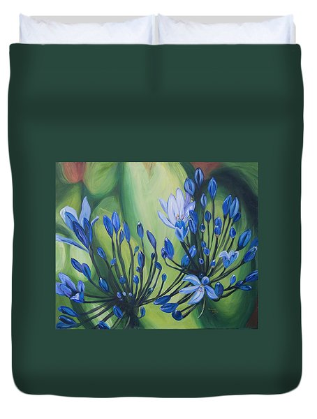 Lilly Of The Nile Duvet Cover