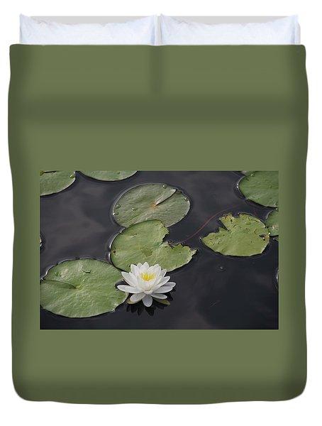 Buddhist Symbol  Duvet Cover