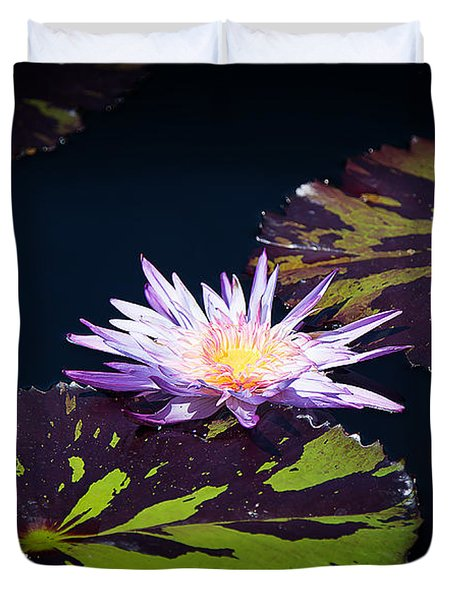 Lily Artistry Duvet Cover