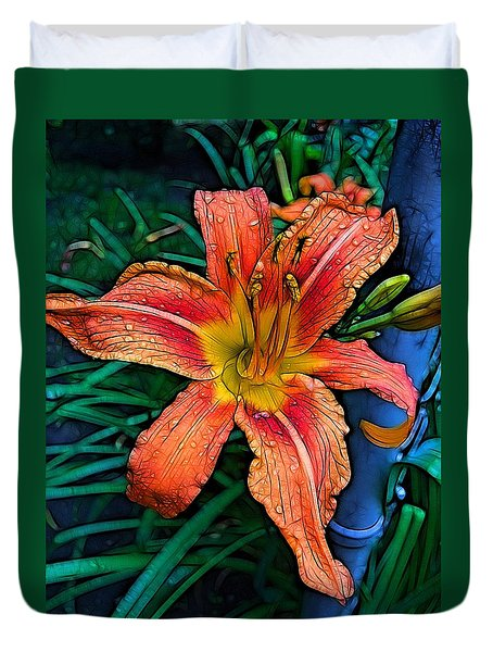 Lily Bold Duvet Cover