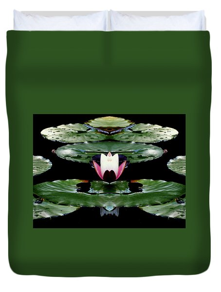 Lily Candle Duvet Cover