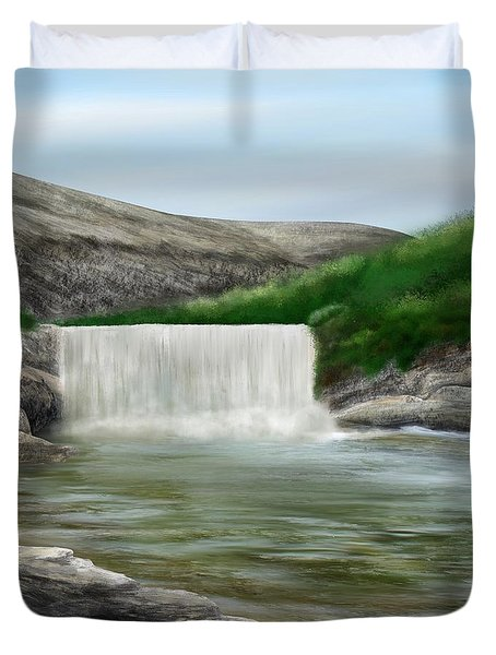 Lily Creek Duvet Cover