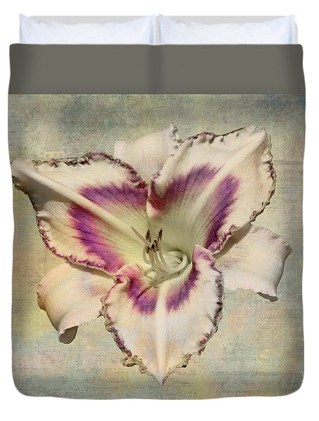 Lily For A Day Duvet Cover by Angela A Stanton