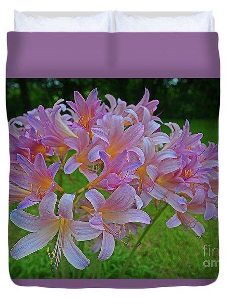 Lily Lavender Duvet Cover