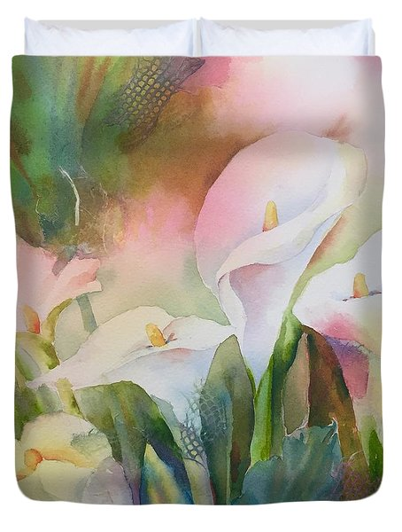Lily Light II Duvet Cover