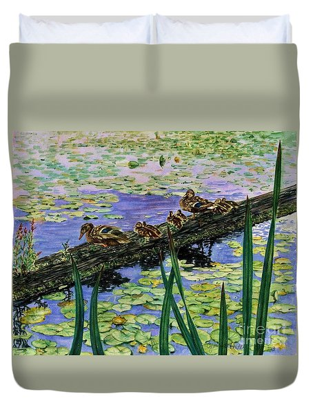 Lily Marsh Family Duvet Cover