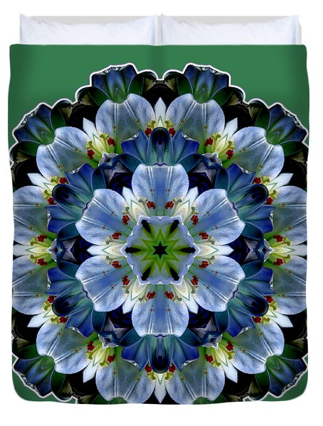 Lily Medallion Duvet Cover