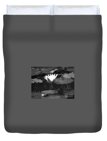 Lily Of The Lake Duvet Cover