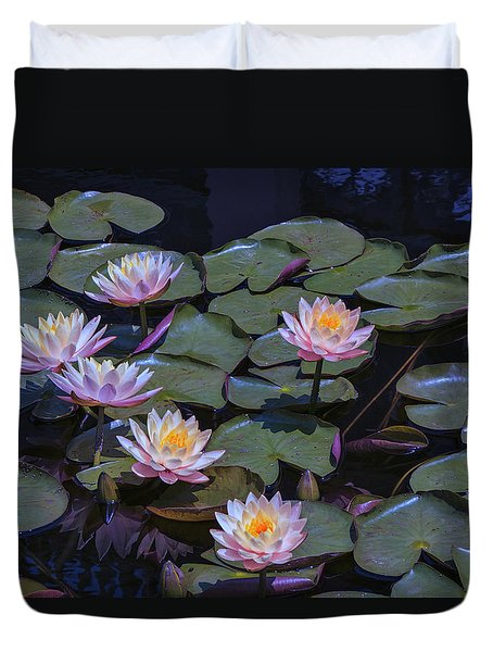 Lily Of The Night Duvet Cover