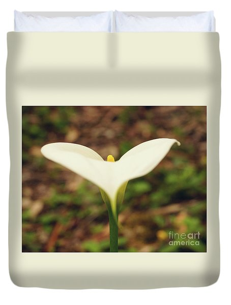 Lily Of The Valley Duvet Cover by Cassandra Buckley