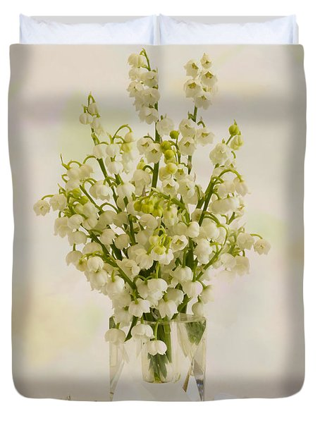 Lily Of The Valley Perfume Duvet Cover