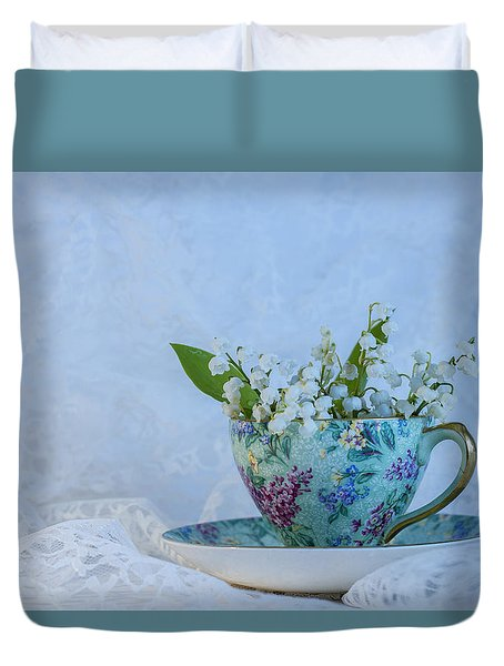 Lily Of Valley Duvet Cover