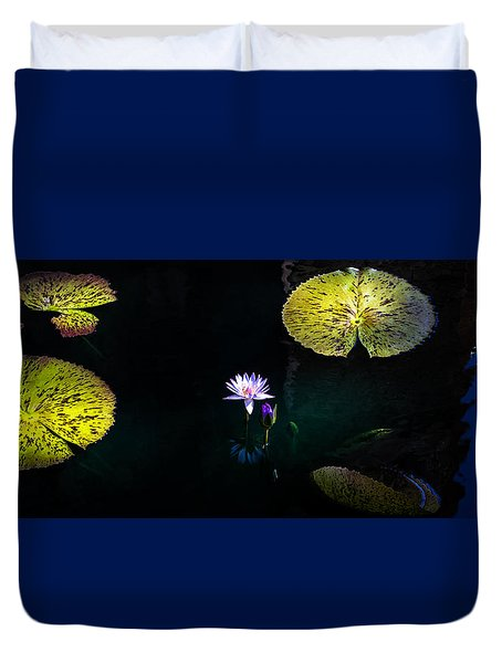 Lily Pads Duvet Cover