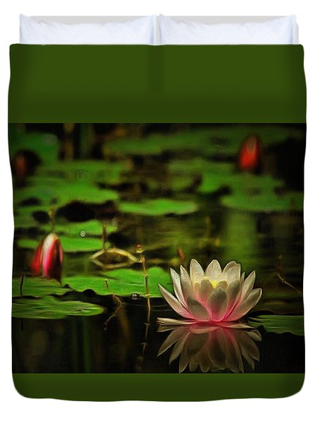 Lily Pond Duvet Cover