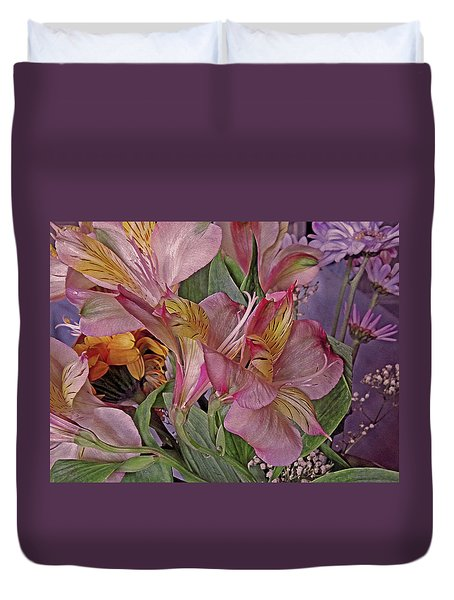 Lily Profusion 7 Duvet Cover