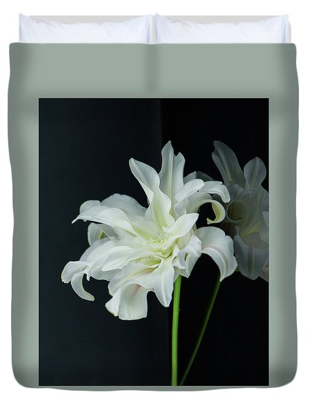 Lily Reflected Duvet Cover
