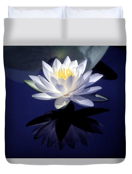 Lily Reflection Duvet Cover