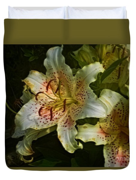Lilys Duvet Cover by Suzanne Handel