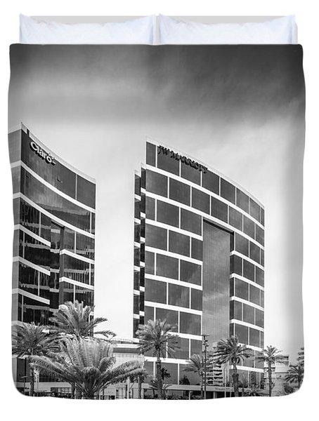 Lima Buildings Duvet Cover