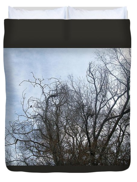 Limbs In Air Duvet Cover